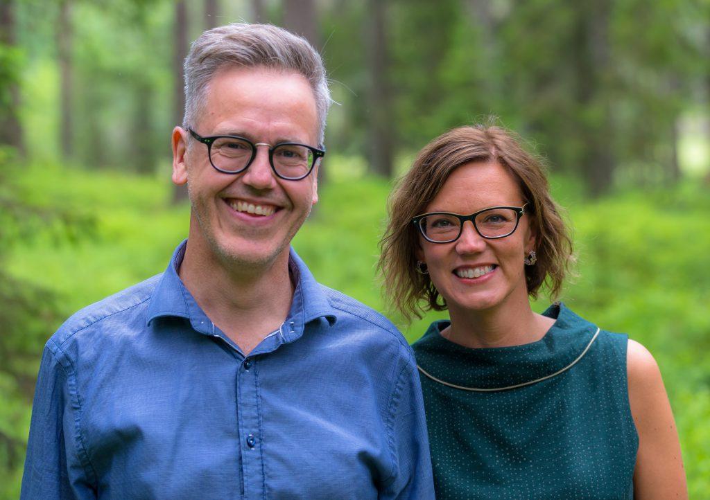 Joakim och Camilla Alveglim
